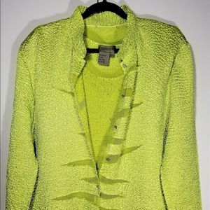 Persona Women's Lime Green Light as a feather 2/pc